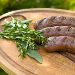 Lamb & Mint Sausages