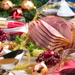 Medium Christmas Meat Box
