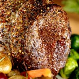 Rolled Beef Sirloin Roast Joint