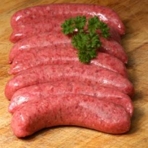 Beef & Guinness Sausages
