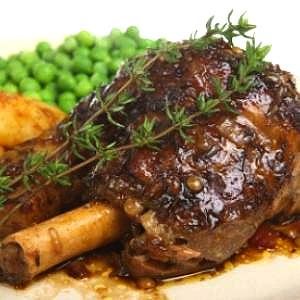 New Zealand Lamb Shanks